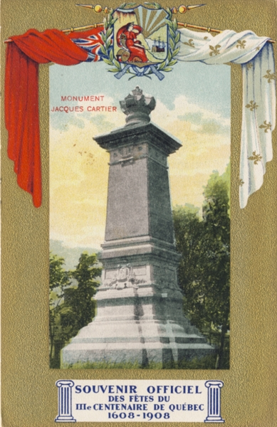 Le Monument de Jacques Cartier