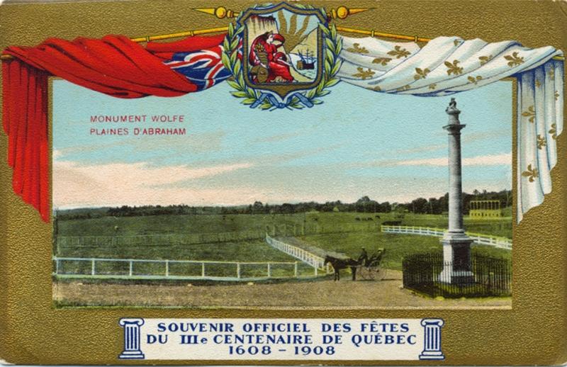 Le Monument du général James Wolfe, sur les plaines d'Abraham