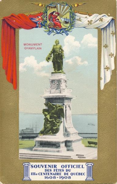Le Monument de Samuel de Champlain